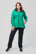 Оптом Костюм женский MTFORCE большого размера зеленого цвета 02003Z