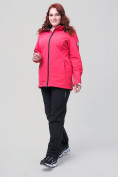 Оптом Костюм женский MTFORCE большого размера розового цвета 02003R, фото 3