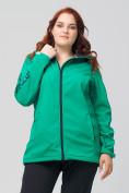 Оптом Костюм женский MTFORCE большого размера зеленого цвета 02003Z, фото 2