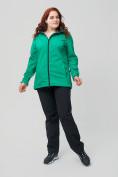 Оптом Костюм женский MTFORCE большого размера зеленого цвета 02003Z, фото 3