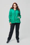 Оптом Костюм женский MTFORCE большого размера зеленого цвета 02003Z, фото 5