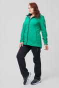Оптом Костюм женский MTFORCE большого размера зеленого цвета 02003Z, фото 6