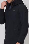 Оптом Парка мужская осенняя весенняя MTFORCE черного цвета 2020Ch, фото 3