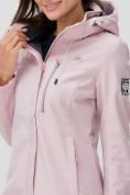 Оптом Ветровка MTFORCE женская розового цвета 2022R в Екатеринбурге, фото 10