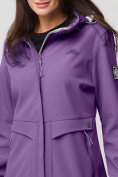 Оптом Ветровка MTFORCE женская фиолетового цвета 2032F в Екатеринбурге, фото 9