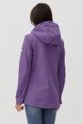 Оптом Ветровка MTFORCE женская фиолетового цвета 2034F в Екатеринбурге, фото 7