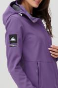 Оптом Ветровка MTFORCE женская фиолетового цвета 2034F в Екатеринбурге, фото 10