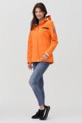 Оптом Ветровка MTFORCE женская оранжевого цвета 2034O в Екатеринбурге, фото 4