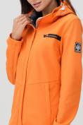 Оптом Ветровка MTFORCE женская оранжевого цвета 2034O в Екатеринбурге, фото 10