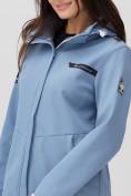 Оптом Ветровка MTFORCE женская голубого цвета 2034Gl в Екатеринбурге, фото 9