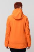 Оптом Ветровка MTFORCE bigsize оранжевого цвета 2034-1O, фото 5