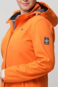 Оптом Ветровка MTFORCE bigsize оранжевого цвета 2034-1O, фото 7