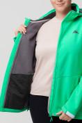 Оптом Ветровка MTFORCE bigsize зеленого цвета 2034-1Z, фото 9