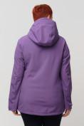 Оптом Ветровка MTFORCE bigsize фиолетового цвета 2034-1F, фото 7