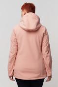 Оптом Ветровка MTFORCE bigsize розового цвета 2034-1R, фото 7