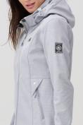 Оптом Ветровка MTFORCE женская серого цвета 2037Sr, фото 4
