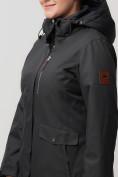 Оптом Горнолыжная куртка MTFORCE bigsize темно-серого цвета 2047TC, фото 8