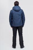 Оптом Горнолыжная куртка MTFORCE темно-синего цвета 2061TS, фото 5