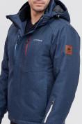 Оптом Горнолыжная куртка MTFORCE темно-синего цвета 2061TS, фото 7