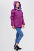 Оптом Куртка зимняя MTFORCE малинового цвета 2080M, фото 4