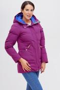 Оптом Куртка зимняя MTFORCE малинового цвета 2080M, фото 6
