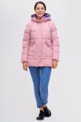 Оптом Куртка зимняя MTFORCE розового цвета 2080R, фото 2