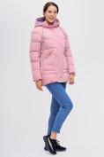 Оптом Куртка зимняя MTFORCE розового цвета 2080R, фото 3