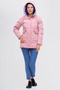 Оптом Куртка зимняя MTFORCE розового цвета 2080R