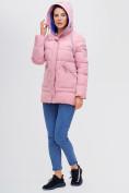 Оптом Куртка зимняя MTFORCE розового цвета 2080R, фото 7