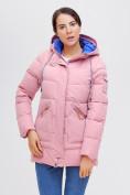 Оптом Куртка зимняя MTFORCE розового цвета 2080R, фото 8