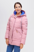 Оптом Куртка зимняя MTFORCE розового цвета 2080R, фото 10
