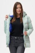 Оптом Куртка зимняя MTFORCE бирюзового цвета 2080Br в Екатеринбурге, фото 3
