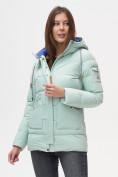 Оптом Куртка зимняя MTFORCE бирюзового цвета 2080Br в Екатеринбурге