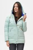 Оптом Куртка зимняя MTFORCE бирюзового цвета 2080Br в Екатеринбурге, фото 9
