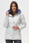 Оптом Куртка зимняя MTFORCE светло-серого цвета 2080SS в Екатеринбурге
