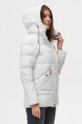Оптом Куртка зимняя MTFORCE светло-серого цвета 2080SS в Екатеринбурге, фото 6
