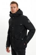 Оптом Горнолыжная куртка мужская MTFORCE черного цвета 2088Ch в Екатеринбурге, фото 4