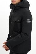 Оптом Горнолыжная куртка мужская MTFORCE черного цвета 2088Ch в Екатеринбурге, фото 7