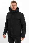 Оптом Горнолыжная куртка мужская MTFORCE черного цвета 2088Ch в Екатеринбурге, фото 2