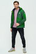 Оптом Ветровка подростковая MTFORCE зеленого цвета 2102Z в Екатеринбурге, фото 2