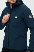 Оптом Ветровка мужская MTFORCE темно-синего цвета 2105TS в Екатеринбурге, фото 16