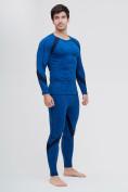 Оптом Термобелье мужское синего цвета 2204S, фото 2