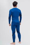 Оптом Термобелье мужское синего цвета 2204S, фото 3
