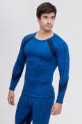 Оптом Термобелье мужское синего цвета 2204S, фото 5