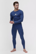 Оптом Термобелье мужское синего цвета 2205S, фото 5