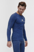 Оптом Термобелье мужское синего цвета 2205S, фото 8
