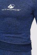 Оптом Термобелье мужское синего цвета 2205S, фото 15
