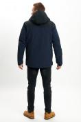 Оптом Молодежная зимняя куртка мужская темно-синего цвета 2155TS в Екатеринбурге, фото 4