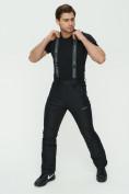 Оптом Брюки MTFORCE горнолыжные черного цвета 2182Ch, фото 8