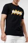 Оптом Мужские футболки с принтом желтого цвета 22013J в Екатеринбурге, фото 6
